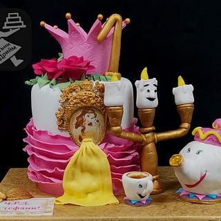 Cake Beauty and the Beast