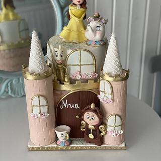 Princess Belle cake - Cake by Martina Encheva