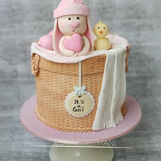 Baby shower cake - Cake by designed by mani