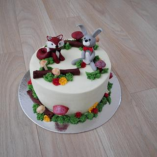 For a little girl  - Cake by Janka