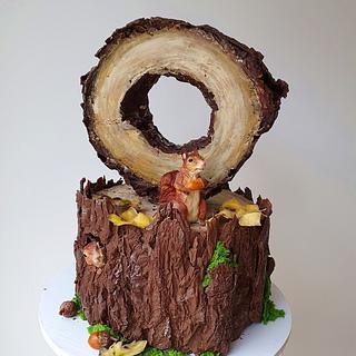 Squirrel cake - Cake by Judit