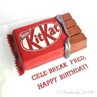 Kit Kat cake - Cake by Michelle Chan