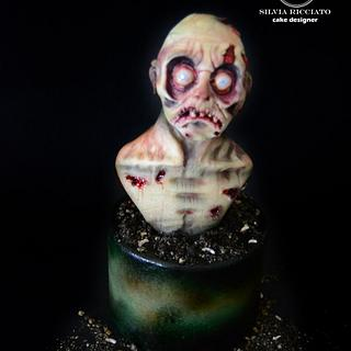 old zombie - Cake by Silvia Ricciato