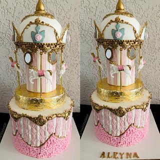 Carasoul cake van La Rosetaartenshop  - Cake by Shereen