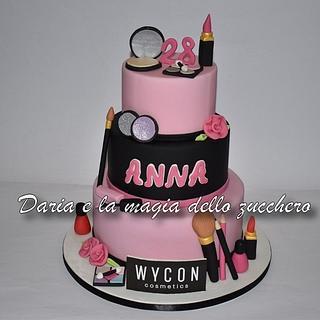 Wycon cosmetics cake - Cake by Daria Albanese