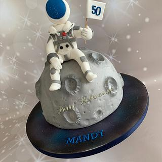 Lost in space  - Cake by Penny Sue
