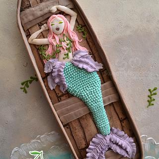 Sleepy Mermaid Cookie-In The Realm of Mermaids Collab