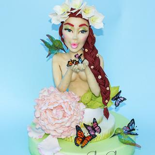 Primavera 🦋  - Cake by Silvia Salerno