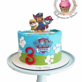 Paw Patrol - Cake by Emily's Bakery