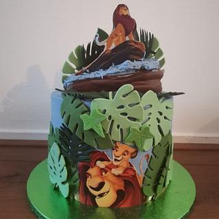 Lion king and simba - Cake by Cake Rotterdam
