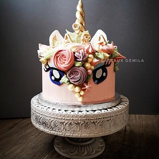 Gâteau Licorne  - Cake by Gateaux DéMila