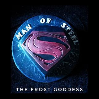 Superman cake - Cake by thefrostgoddess