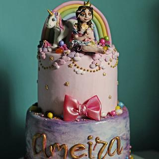 Little Princess Unicorn - Cake by Alfred (A. Cakes & Cupcakes)