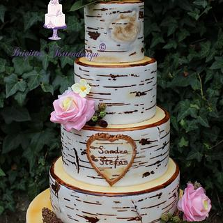 Birktree Weddingcake