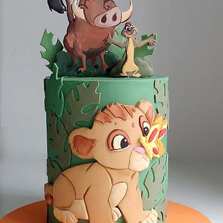 Rey leon bebé - Cake by Natalia Casaballe
