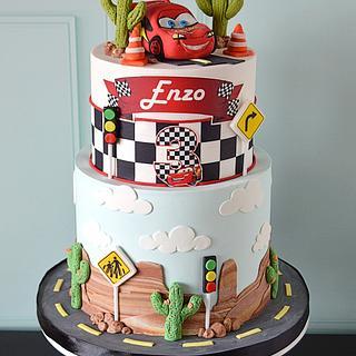Mcqueen birthday cake - Cake by Paula Rebelo