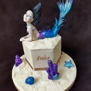 My mermaid cake