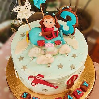 Airplane cake - Cake by Arti trivedi