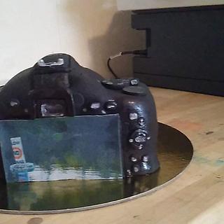 camera cake - Cake by WitchyCaker