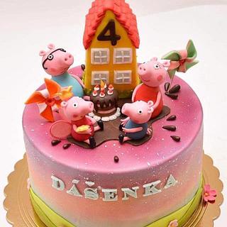Cake for Dášenka - Cake by Silvia