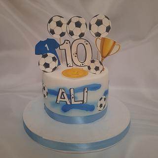 """""""Trophies Cabinet cake"""""""
