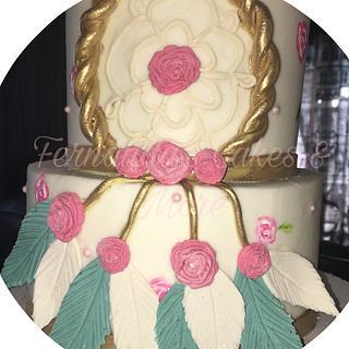 Dream catcher cake - Cake by Fernandas Cakes And More