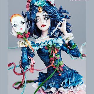 La verità in maschera - Cake by Arianna Sugar Art