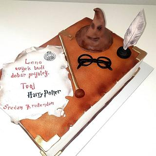 Harry Potter cake - Cake by TORTESANJAVISEGRAD