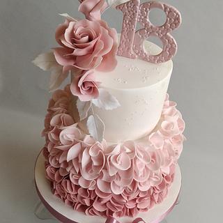 Romantic birthday cake - Cake by Jitkap
