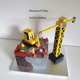 Construction cake - Cake by Judit