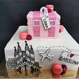 Dream of Barcelona - Cake by ZuzanaHabsudova
