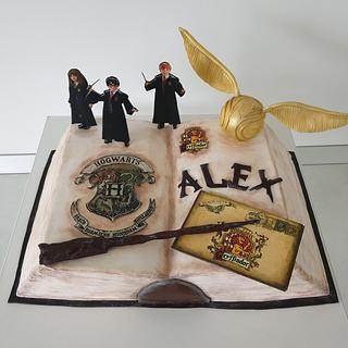 Harry Potter and friends - Cake by Torturi Mary