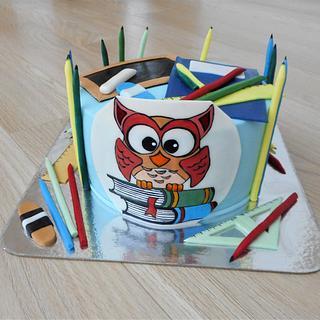 School inspiration  - Cake by Janka