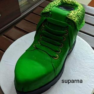 Shoe cake - Cake by Suparna