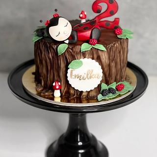 Ladybug cake - Cake by Silvia Gundová