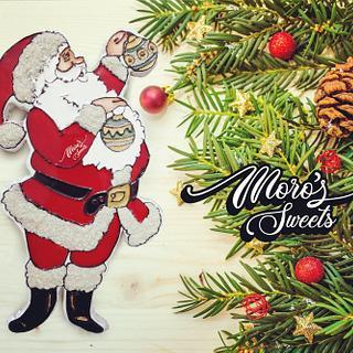 moro's Sweets santa cookie