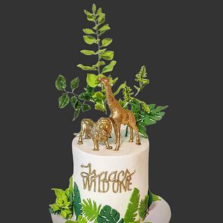 Wild One birthday cake - Cake by The Custom Piece of Cake