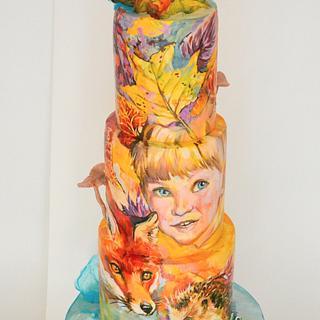 Autumn leaves - Cake by Tanya Shengarova