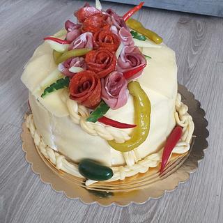 salty raw cake