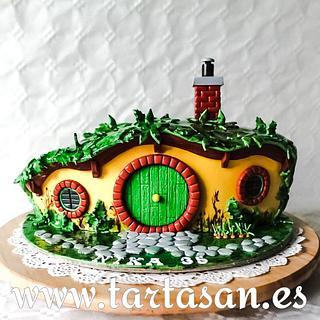 Hobbit house 🥰 - Cake by TartaSan - Damian Benjamin Button