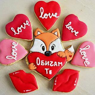 St. Valentine's cookies
