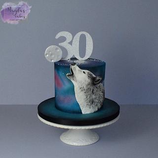 Wolf - Cake by Magda's Cakes (Magda Pietkiewicz)