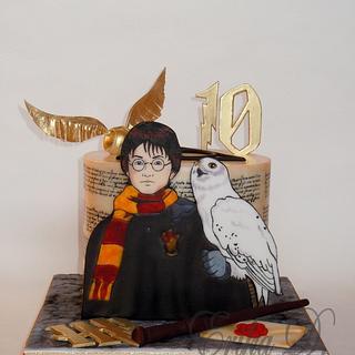 Harry Potter - Cake by Derika