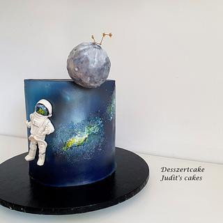 Space cake - Cake by Judit