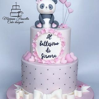 Panda  - Cake by Mariana Frascella