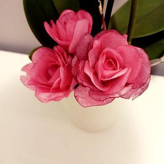 Wafer roses