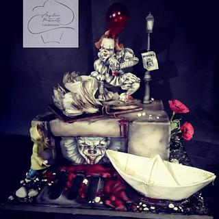 It, Pennywise - Cake by Angelica Martinetti Cake Designer