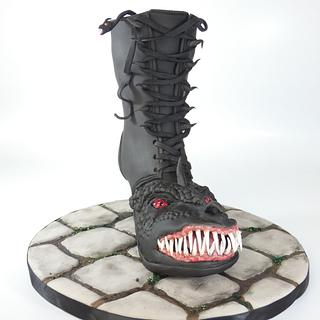 """Monster """" Crazy Shoe Collab """""""