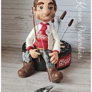 Man with lots of hobbies! - Cake by Karen Dodenbier