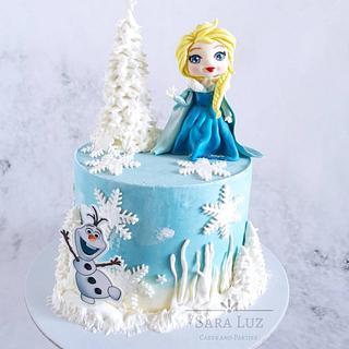 Elsa Frozen Cake - Cake by Sara Luz